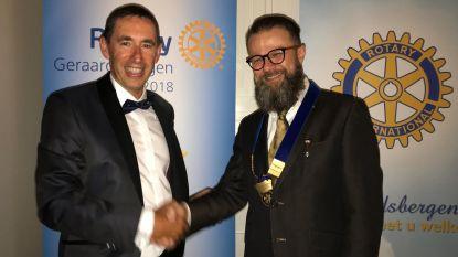 Nieuwe voorzitter voor Rotary club Geraardsbergen