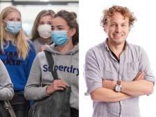 Mondkapjesprotest komt van schuimbekkende ouders, de pubers zelf zijn wel wijzer