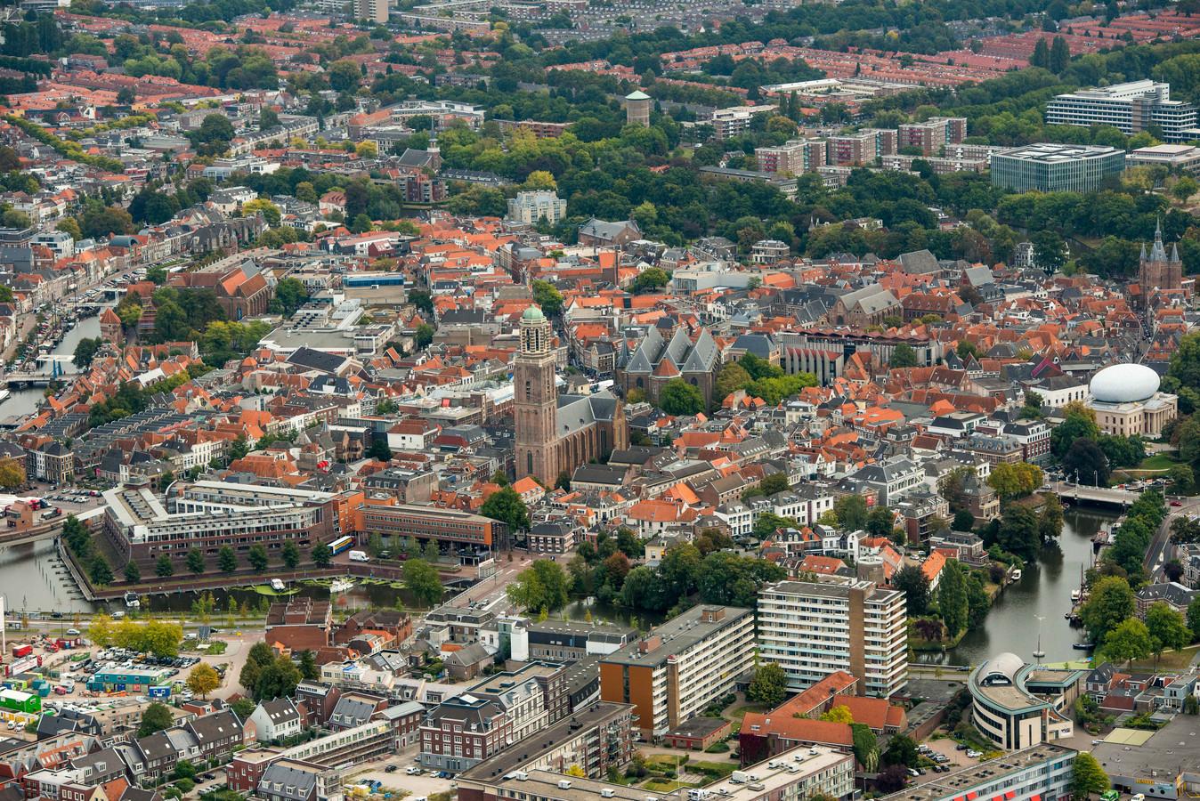 Zwolle is in trek als woonstad. Het aantal inwoners steeg afgelopen half jaar met 601 mensen.