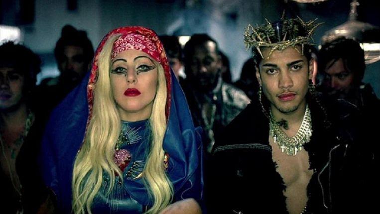 Lady Gaga Beeld