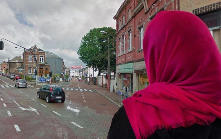 De 19-jarige vrouw werd aangevallen op straat in Anderlues.