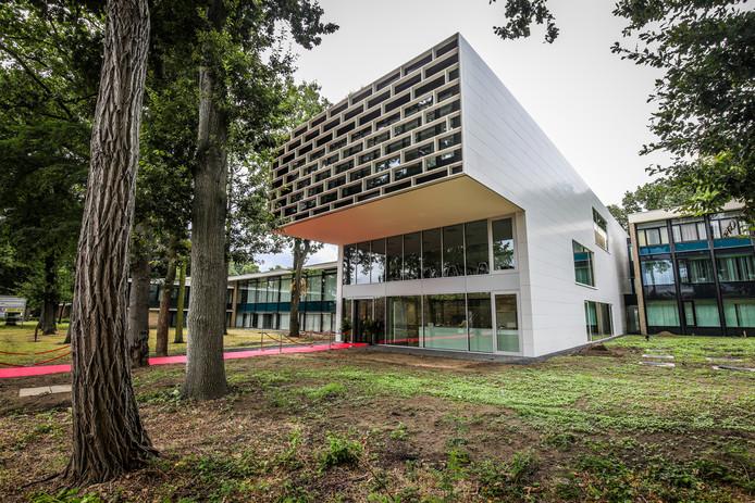 Het nieuwe onthaalgebouw van Syntra West.