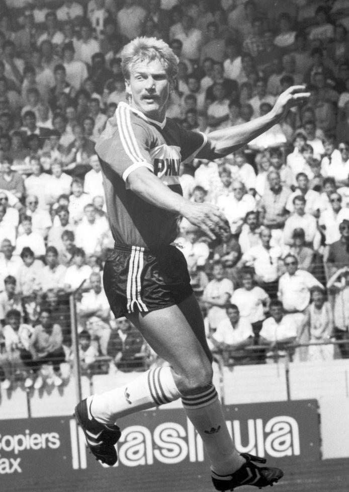 Hallvar Thoresen maakte tussen 1981 en 1988 liefst 106 doelpunten voor PSV.