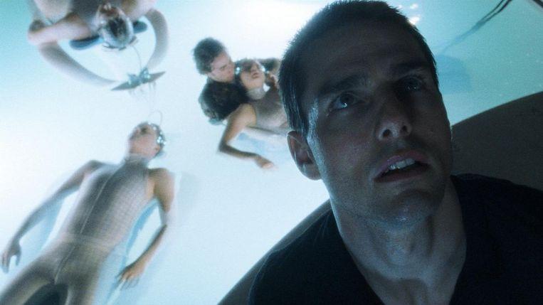 Tom Cruise in Minority Report van Steven Spielberg. Beeld