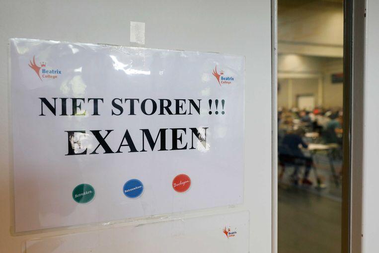 Voorbeeldfoto examens