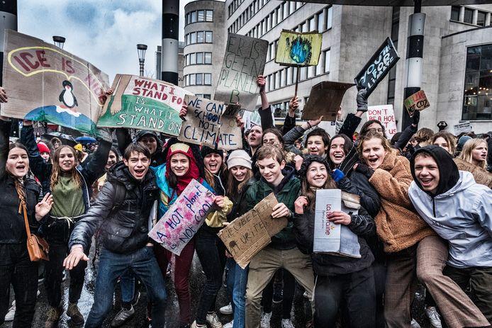 Deze klimaatspijbelaars trokken eerder al naar Brussel zónder dat ze daarvoor punten kregen - en dat allemaal dankzij Greta Thunberg.