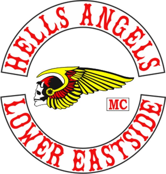 Het logo van de Nijmeegse afdeling van de Hells Angels.
