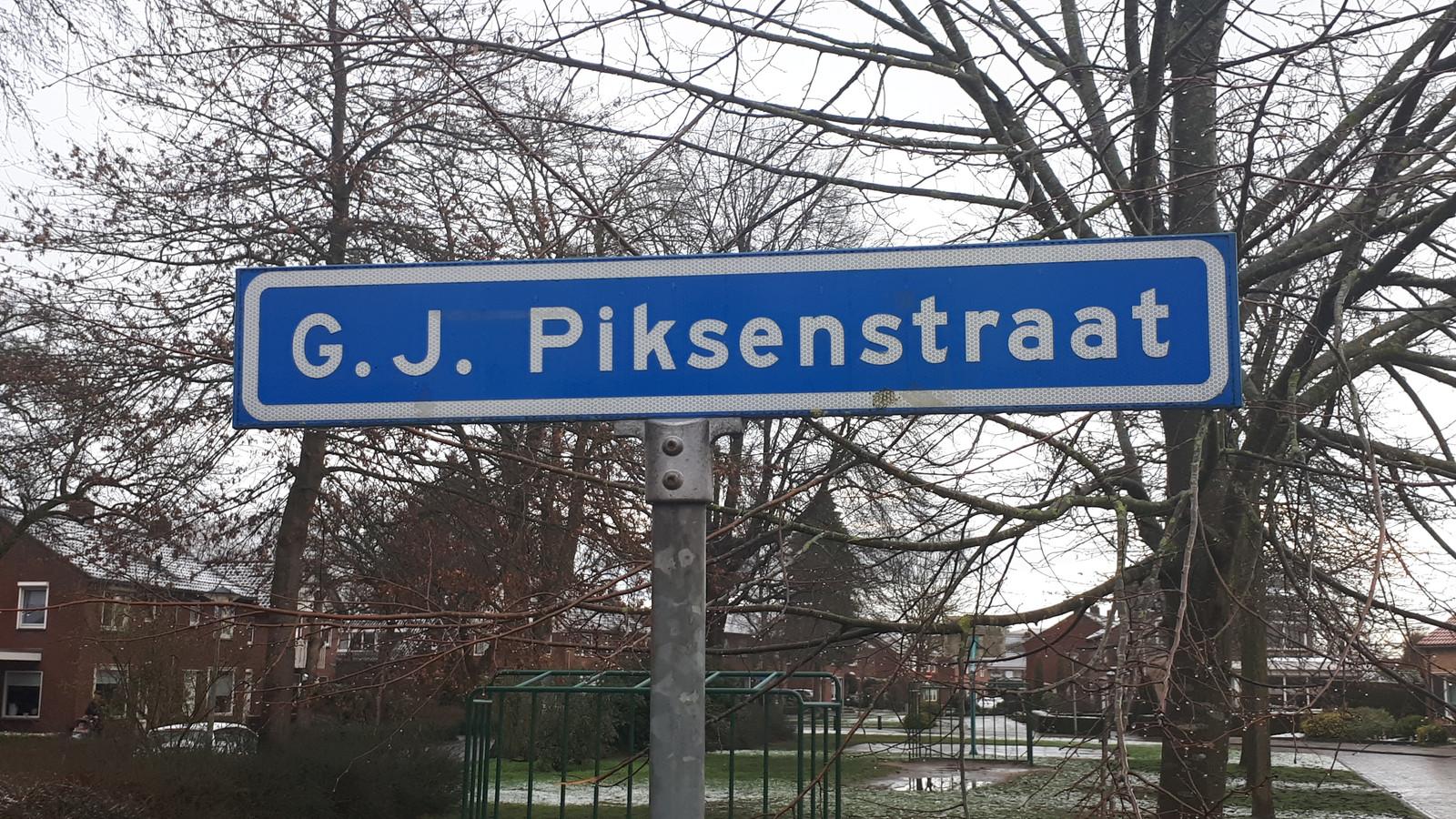 En wie was die Gerrit-Jan Piksen ook al weer?