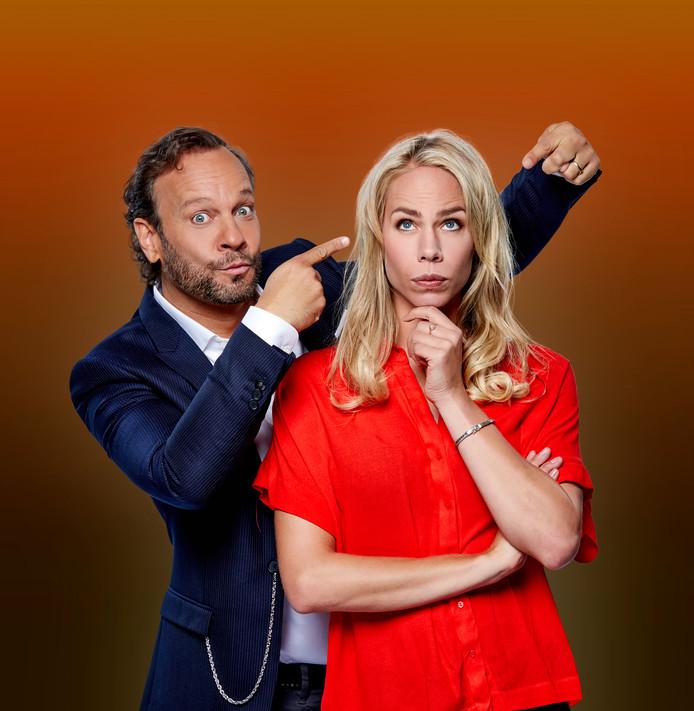 Carlo Boszhard en Nicolette Kluijver.