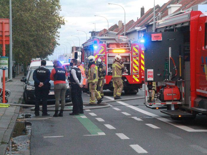 De brandweer kreeg de brand vrij snel onder controle.