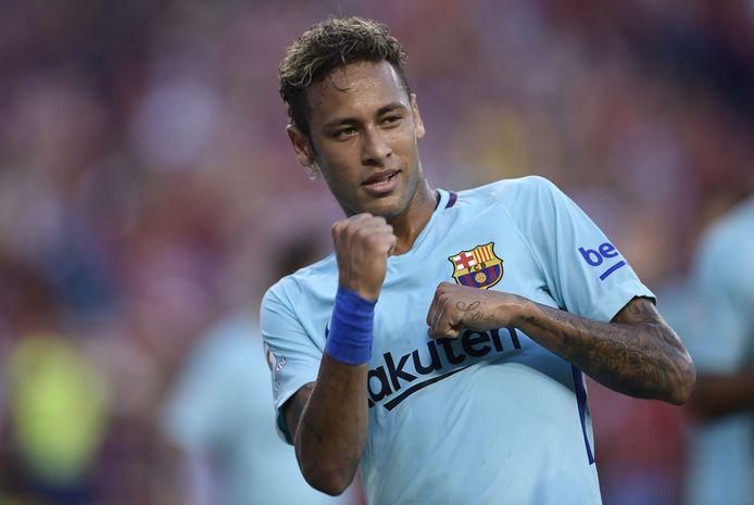 Neymar sous les couleurs du Barça (2017)