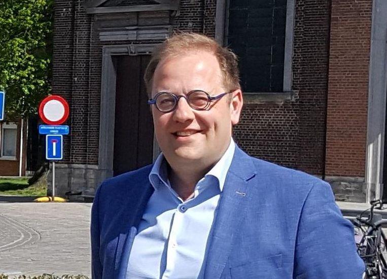 Burgemeester Tom De Vries (Open Vld).