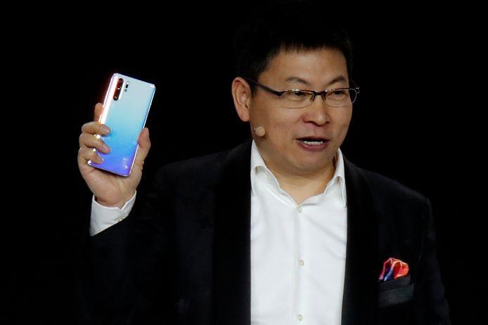 Richard Yu, CEO van Huawei's consumentendepartement.