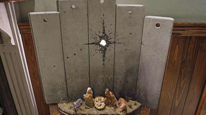 Nieuw werk van Banksy duikt op in Bethlehem