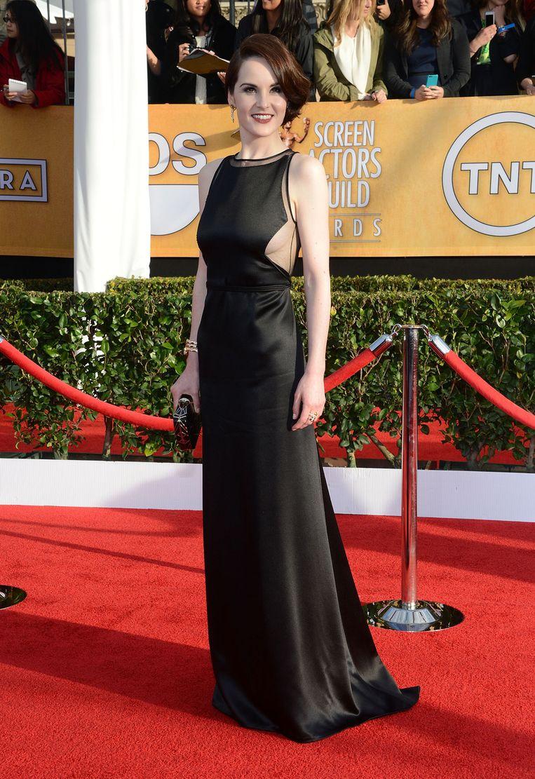 Michelle Dockery op de SAG Awards.