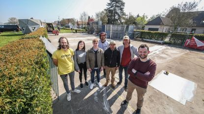 Werken aan skatepark in Kooigem gestart
