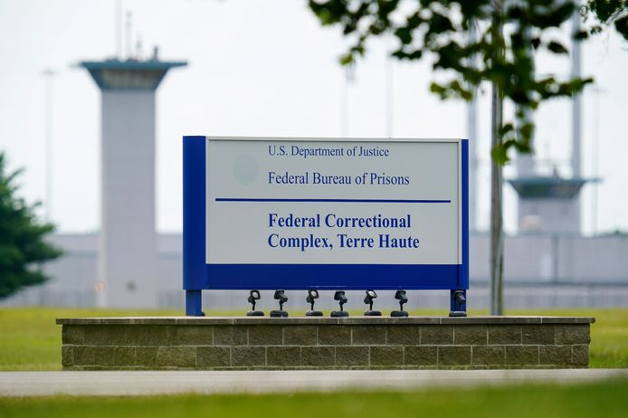 Het federale gevangeniscomplex waar Lisa Montgomery ter dood zal worden gebracht.