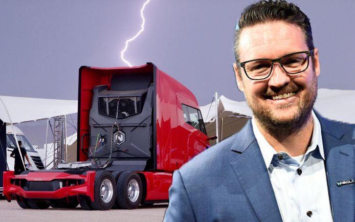 Nikola Motor Corporation ontwikkelt vrachtwagens en pick-ups die rijden op elektriciteit en waterstof.