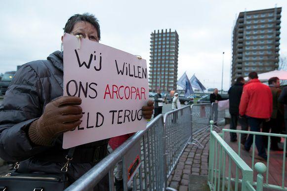 Archiefbeeld van een protestactie.