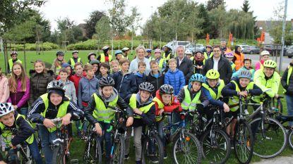 Schoolroutekaart brengt knelpunten en veilige fietsroutes in kaart voor Wortegem-Petegem