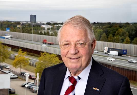 Wim van der Leegte in Eindhoven(archieffoto 2019).