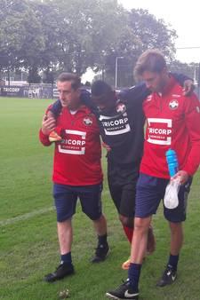 Abubakar breekt kuitbeen op training Willem II