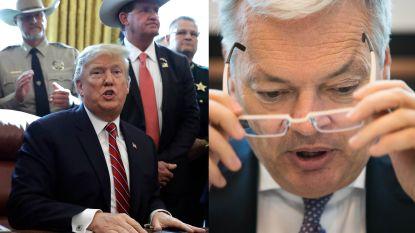 Reynders bezorgd over strenge Amerikaanse sancties tegen Internationaal Strafhof