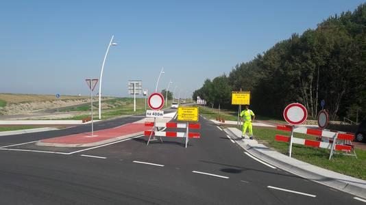 Scheldeboulevard was alleen maandag afgesloten bij de noordelijke rotonde bij de Oostsluis, verkeer kan tot zaterdag wel doorrijden tot de Nieuwstraat en de parkeergarage Theaterplein.