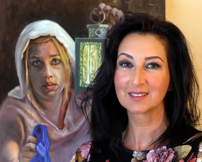 Suzana Jovanovic is trots dat ze uit vijftig kandidaten gekozen is voor het 'Project Rembrandt'. ,,Ik heb een hele weg afgelegd.''
