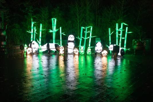 ouwehands, rhenen, dierenpark, festival of lights, china, licht,
