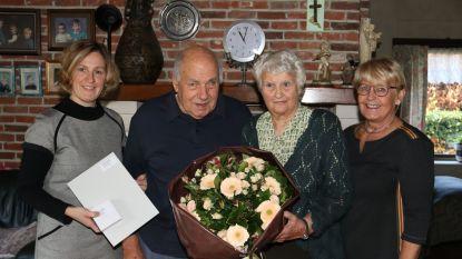 Briljanten gelukwensen voor Elodie en Jan