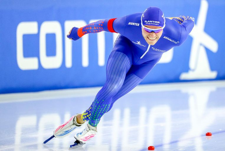 'Ik wil hem in ieder geval op de Spelen verslaan, dat is één ding dat zeker is', zegt Verweij over Joeskov. Beeld anp