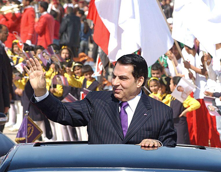 Ben Ali in 2006.  Beeld AFP