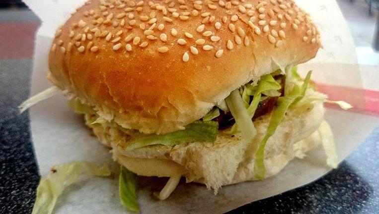 Dat zag niemand aankomen: verreweg de meeste mensen tipten de goede oude grillburger van Febo. Beeld Eigen foto