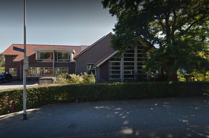 Het schoolgebouw van 't Beeckland in Vorden.