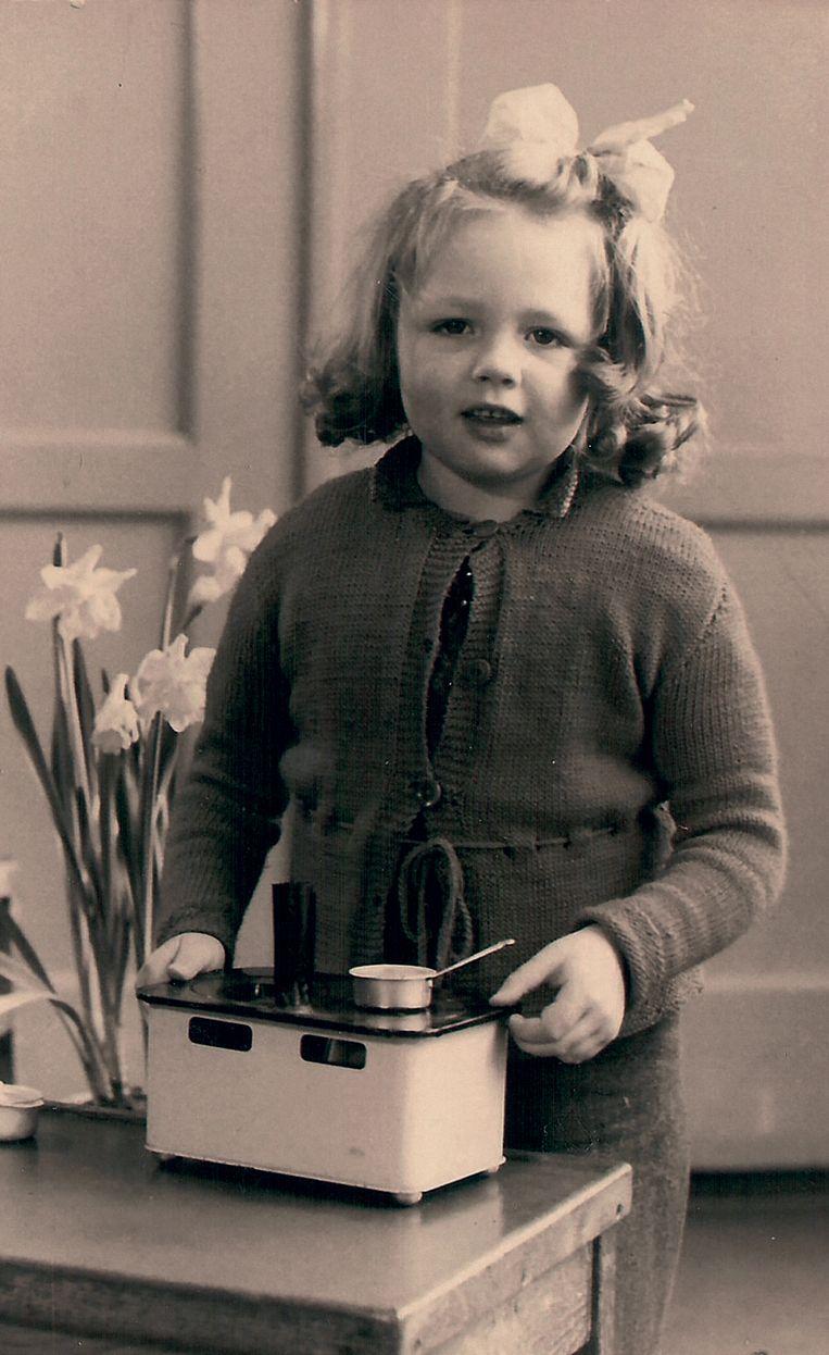 Patty Klein op de kleuterschool Beeld RV