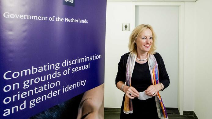 Minister Bussemaker strijdt voor gelijke rechten.
