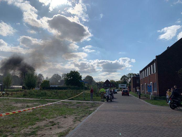 Brand in stroomhuis Vlijmen.