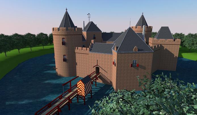 Een reconstructie van Berkhout.