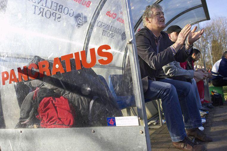 Speciale aandacht ging uit naar Pancratius. De Badhoevendorpse vereniging won een prijs buiten mededinging, de club ligt immers niet in Amsterdam, voor de 'Van de kaart-kaart'. Foto Marcel Israel Beeld