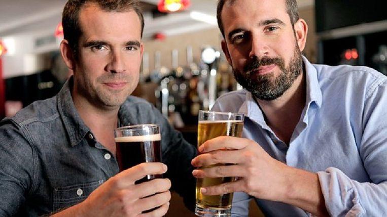 De tweeling Chris en Xand Beeld BBC