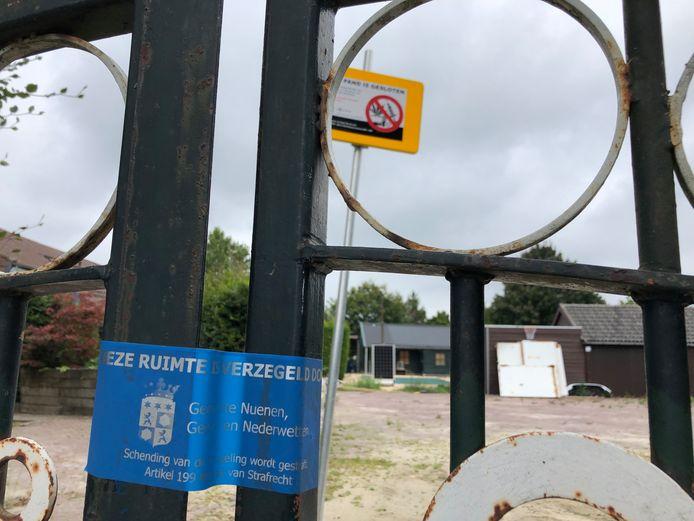 Camerabewaking bij gesloten drugsboerderij in Nederwetten
