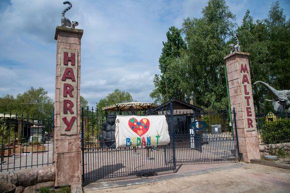 Harry Malterpark wordt klaargestoomd voor de opening maandag.