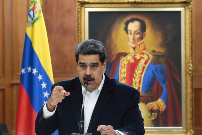 De Venezolaanse president Nicolas Maduro, voor wie Alex Saab een belangrijke dealmaker zou zijn geweest. Archiefbeeld.