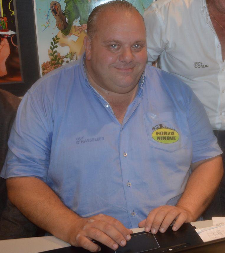 Guy D'haeseleer, kopman van Forza Ninove.