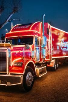 Kersttruck van Coca-Cola komt weer naar Enschede