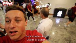 WK panna stopzetten... om Ronaldo te spotten