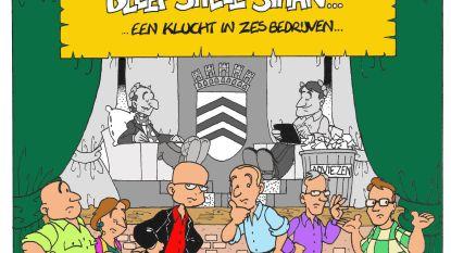 Groen-Lier&Ko verrast met strip 'En waar de stad bleef stille staan'