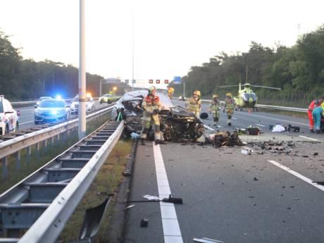 Spookrijder veroorzaakt dodelijke crash op A12