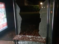 Minderjarige sloopt bushokje in Steenwijk, getuige zet achtervolging in